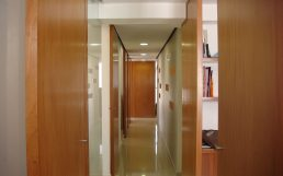 Interior design, office renewal, circulation and accesses