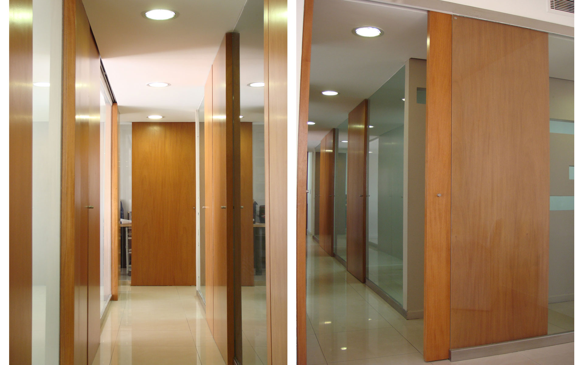 diseño interior, reforma oficina, circulación accesos