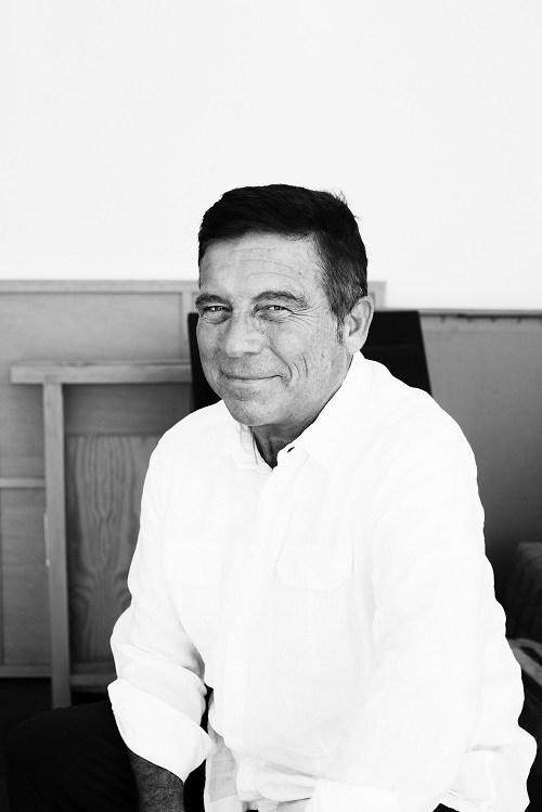 El arquitecto Alberto Campo Baeza, fotografía blanco y nego