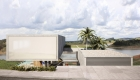 Architecture: Reinforced concrete house, access between two volumes