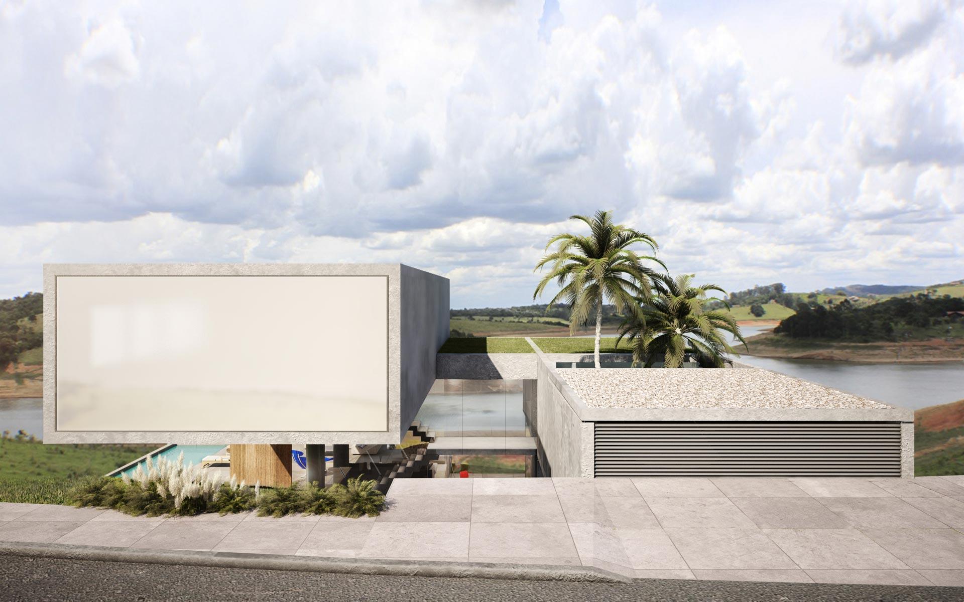Casa 2v vivienda minimalista najmias oficina de for Proyectos minimalistas