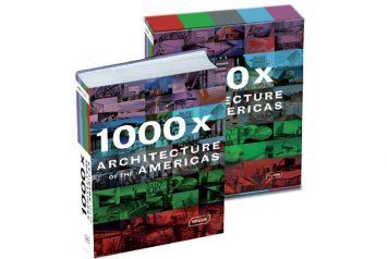 Tapa libro 1000 x Architectures of the Americas de la editorial Braun donde el trabajo del estudio NOA fue publicado