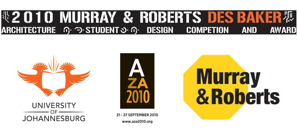 Logo del Concurso 2010 Murray & Roberts Des Baker en Sudafrica y que el arquitecto argentino Oliverio Najmias fue jurado