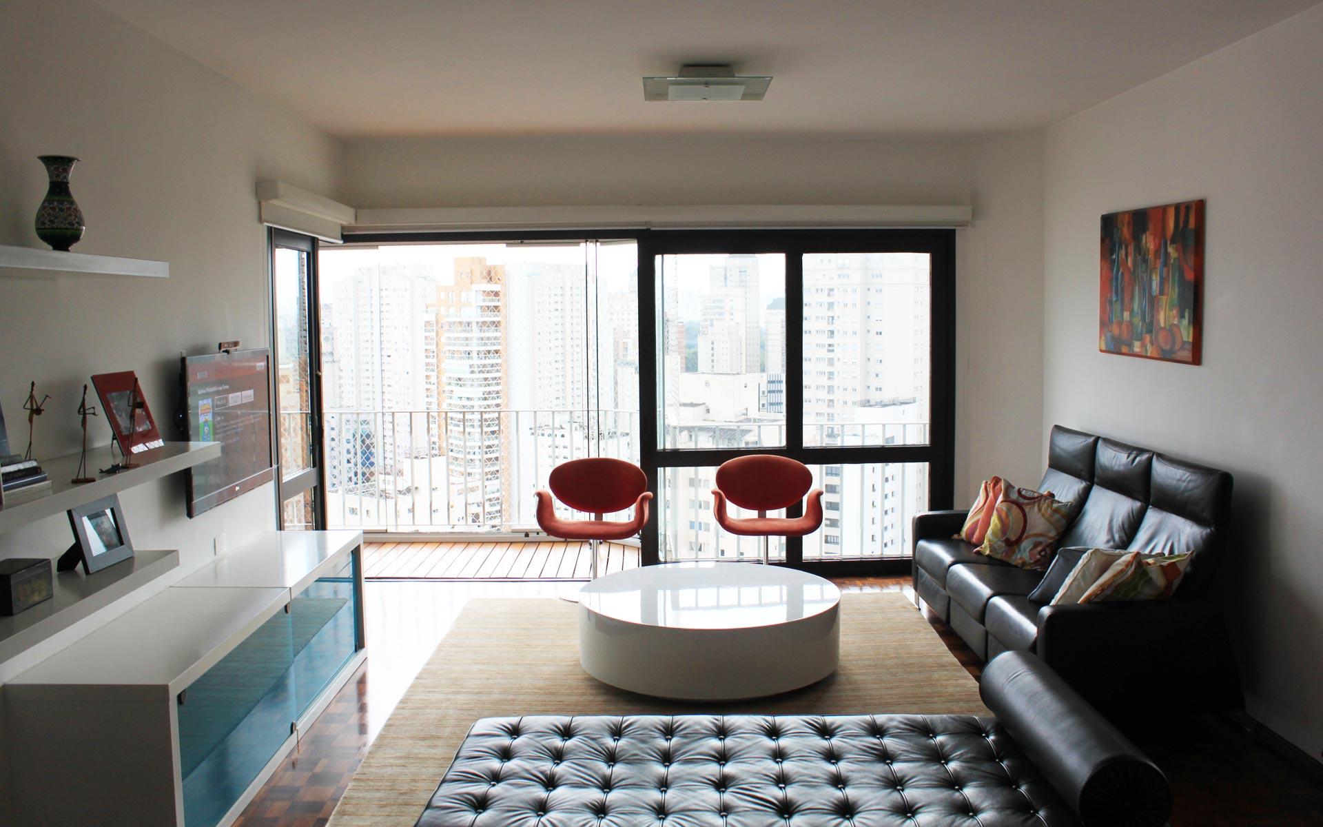 Diseño Interior: Living moderno, reforma departamento