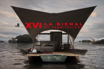 Glamping, Acqua floating eco lodge at the Internation Architecture Bienale
