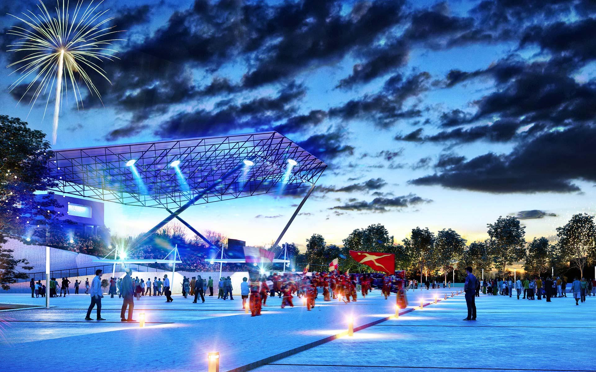 Arquitectura y Paisaje, Premio Parque de la Ciudad El imax se reconvierte en un anfiteatro para especatucos publicos