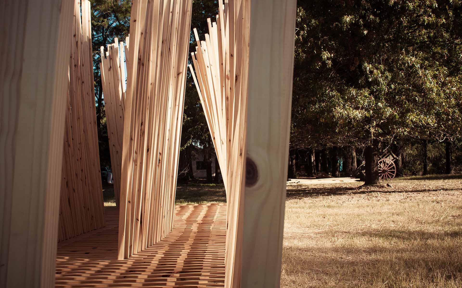 Arquitectura Diseño, Instalación Artistica: Construcción en Madera Hellowood Argentina