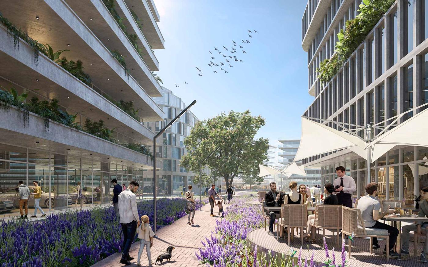 Arquitectura del paisaje y urbanismo: Parque de los senderos nativos, una nueva propuesta de ciudad verde y peatonal
