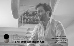 Oliverio Najmias membro do júri no Prêmio Team20
